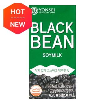 韩国YONSEI延世牌 无添加黑豆豆奶 200ml