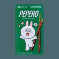 韩国LOTTE乐天 PEPERO 杏仁巧克力脆棒 32g 包装随机发