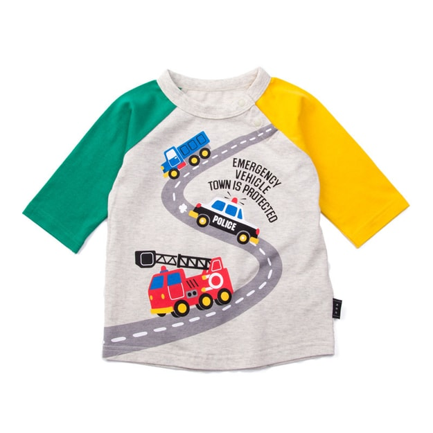 "Product Detail - IMARYA KIDS 2-5 Years Toddler T-shirt 7"" Sleeve Car Logo 2years - image 0"