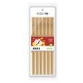 SUNCHA Bamboo Chinese Chopsticks Paint-free 24cm 12pairs