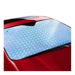 LORDUPHOLD Car Foldable Sun Shade Visor Shield Rear Front Windshield Reflective Heat Cover Lasers for sedan 1 pcs