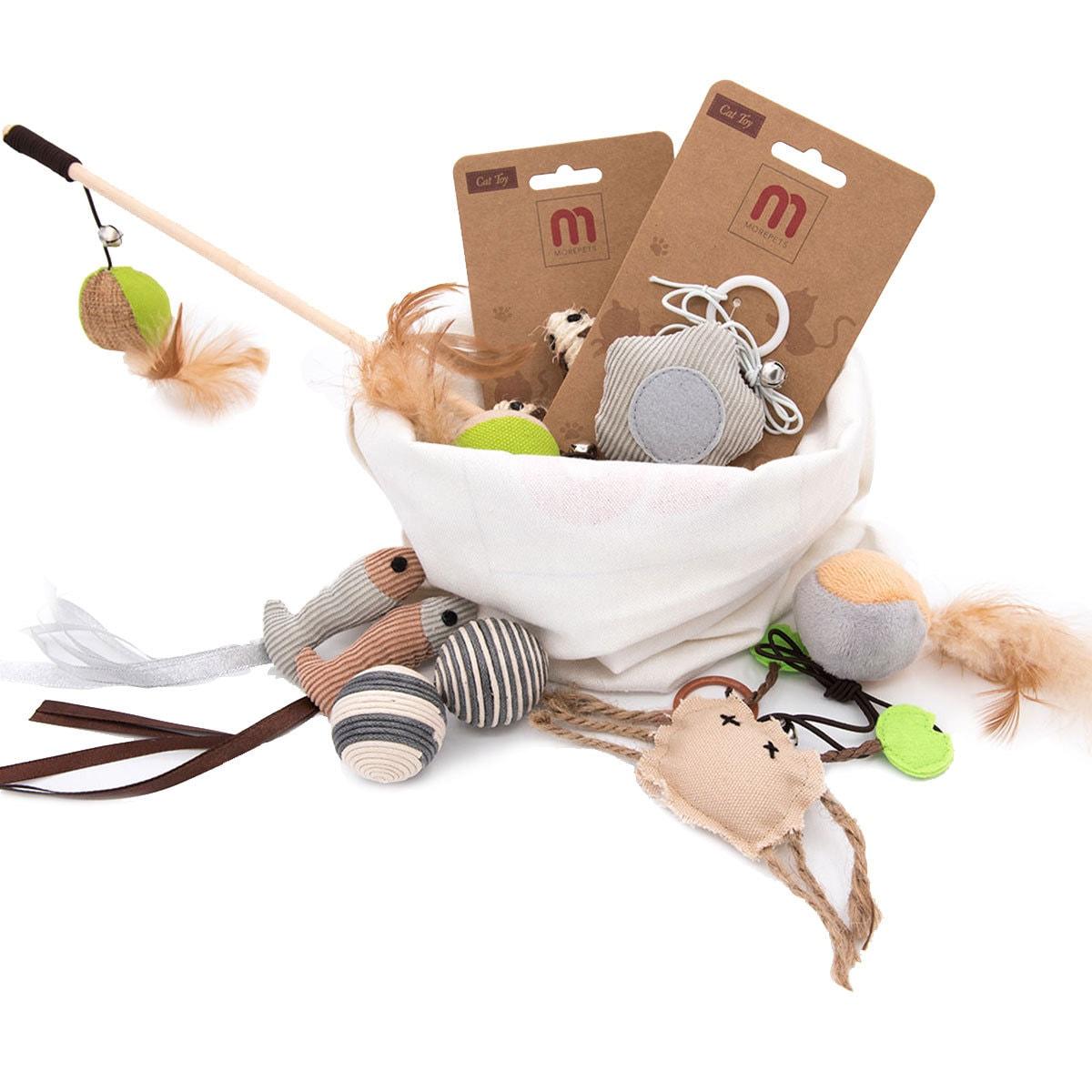 MOREPETS Premium Cat Toys Variety Pack