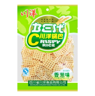 CHUANGYANG Crispy Rice Green Onions Flavor 70g