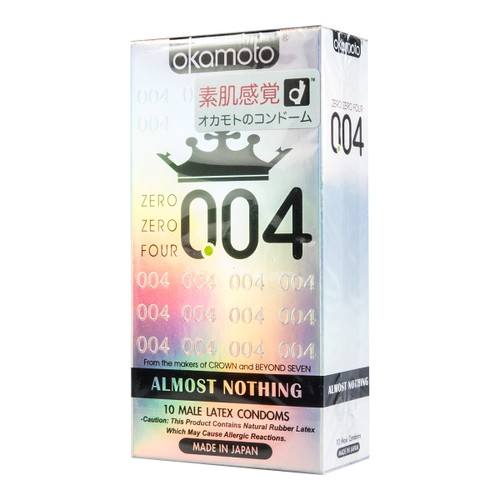 Adult toy OKAMOTO 004 Ultra Thin Condom 10 Pack