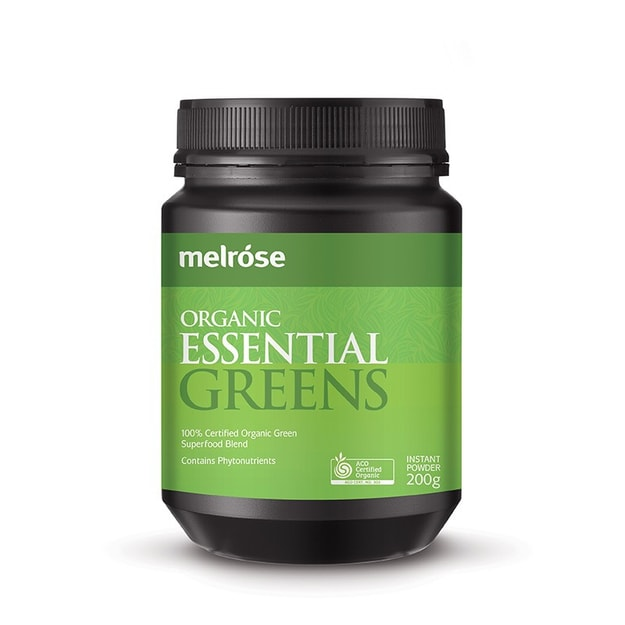 Product Detail - MELROSE Organic Essential Greens 200g - image 0