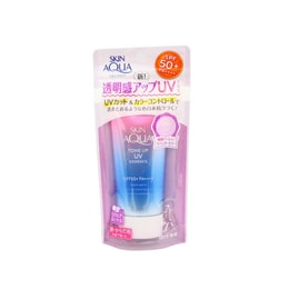 ROHTO SKIN AQUA Tone Up UV Essence SPF50+ PA++++ 80g