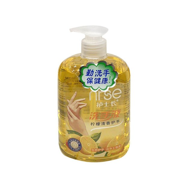商品详情 - 护士长 柠檬清香洗手液 500ml - image  0