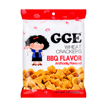 GGE BBQ Cube Wheat Cracker 80g