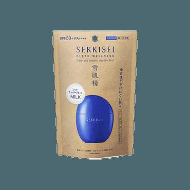 日本KOSE高丝 雪肌精 超防水防晒乳 SPF50+ PA++++ 50ml