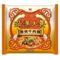 [台湾直邮] 统一满汉大餐 葱烧牛肉面187g /单包(限购2包)
