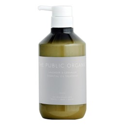 THE PUBLIC ORGANIC Lavender & Geranium Essential Oil Treatment 500ml