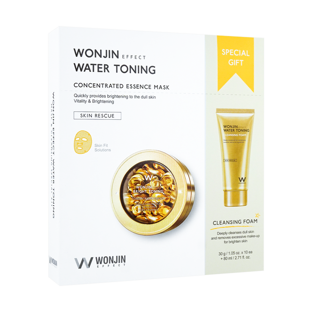 Product Detail - WONJIN EFFECT Water Toning Concentrated Essence Mask 10pcs - image 0