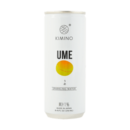 Sparkling Ume Water 250ml