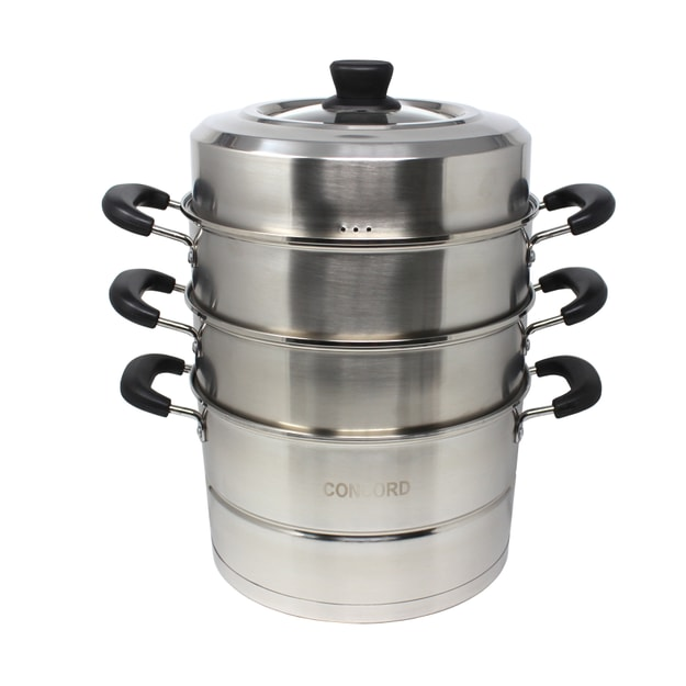 Product Detail - CONCORD Premium Stainless Steel Steamer 26cm - image  0
