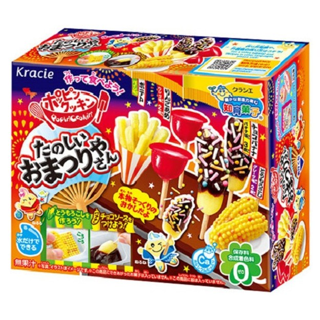 Product Detail - KRACIE Popin\' Cookin\' Japanese Festival DIY candy 24g - image 0