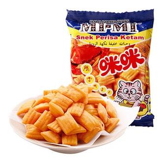 咪咪虾条 马来西亚蟹味粒 10包入 童年回忆