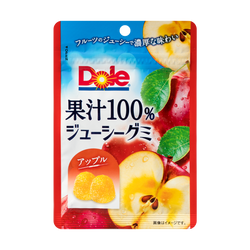 FUJIYA Apple Juice Candy 100% real Juicy 40g