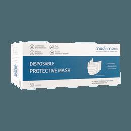 3 Layer Disposable Medical Face MaskClass 2 Face Mask 50pcs