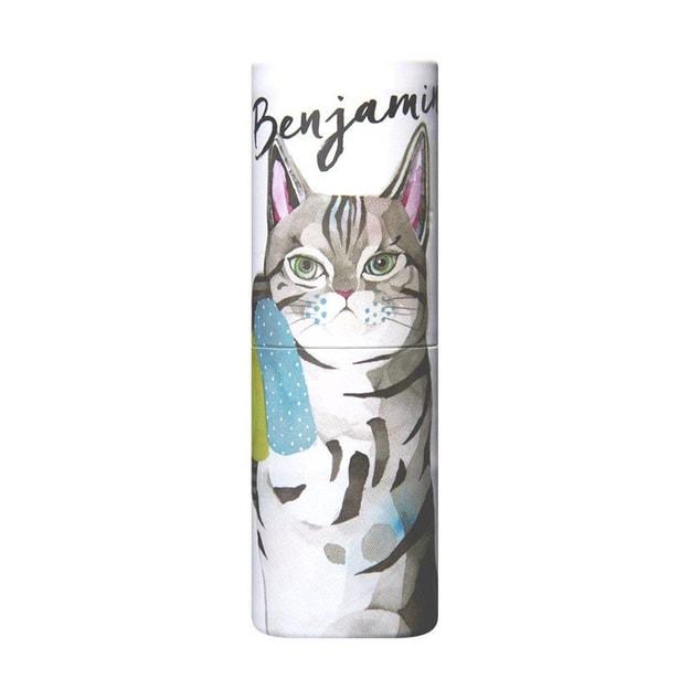 商品详情 - DHL直发【日本直邮】日本FITS VASILISA 可爱动物造型固体果味香水棒 茉莉花香 5g - image  0