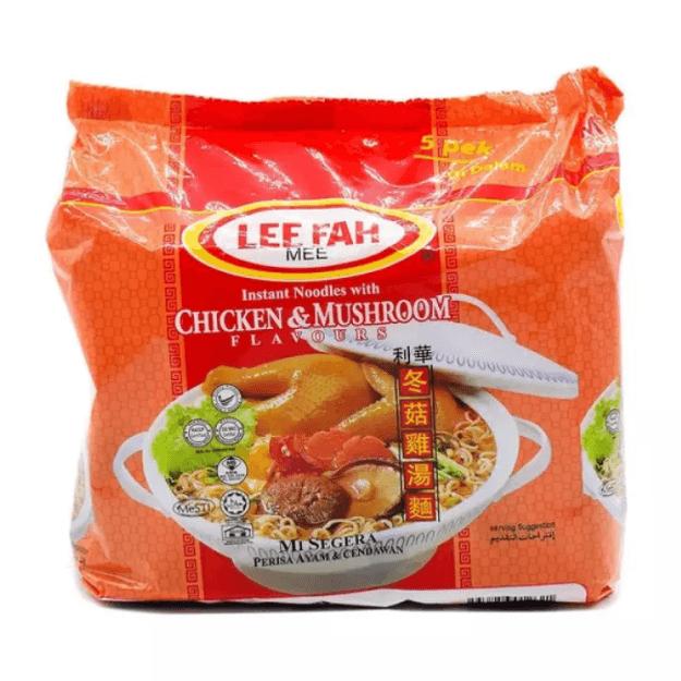 商品详情 - 【马来西亚直邮】 马来西亚 MYOJO 明星 利华面 冬菇鸡汤面 70g x 5 - image  0