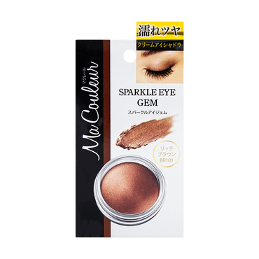 MOMOTANI MA COULEUR Sparkle Eye Gem BR101 Rich Brown