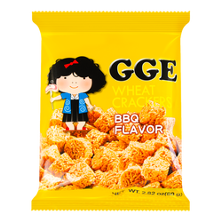 WEILIH GOOD GOOD EAT BBQ Cube Wheat Cracker 80g (Random Delivery of 2 Packaging)
