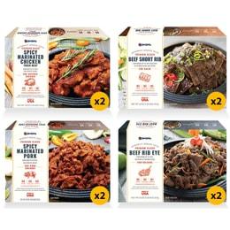 OMONA Korean BBQ Special Bundle 8 Packs