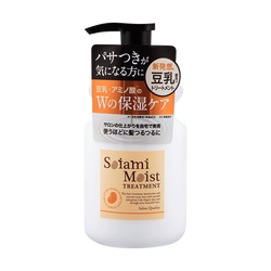 日本AQUANOA SOIAMI 保湿护发素 420ml
