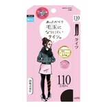 日本TRAIN女の欲望  发热压力保暖打底裤连裤袜 110D #黑色 M-L