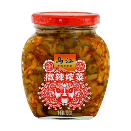 HUITONG Preserved Vegetables In Chili Oil 300g Mild Spicy