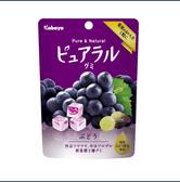 【日本直邮】日本KABAYA 巨峰葡萄果汁夹心QQ软糖 45g