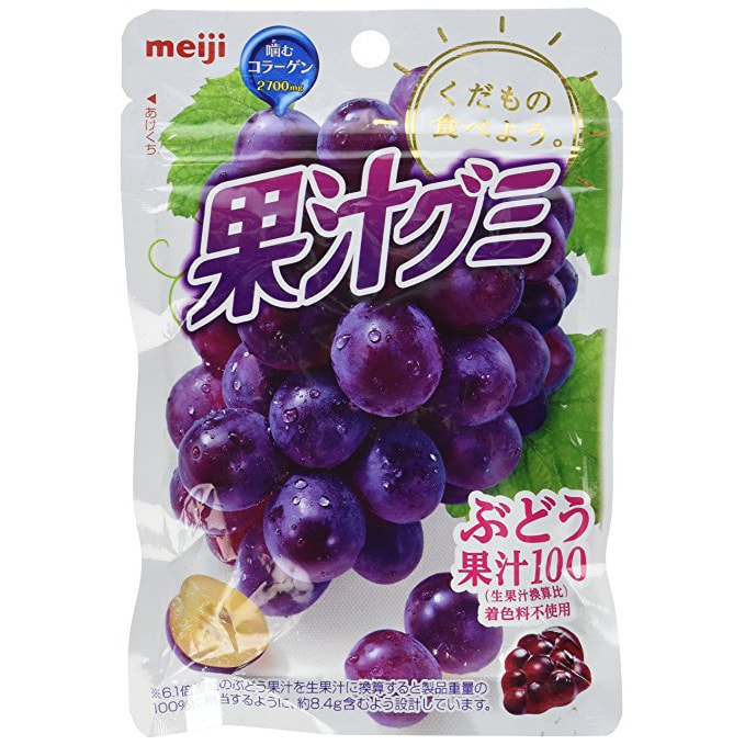 Yamibuy.com:Customer reviews:MEIJI Kaju Gummy Grape Meiji from Japan 51g