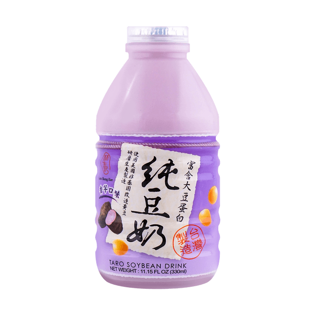 Product Detail - LAMSHENGKEE Taro Soybean Milk 330ml - image 0