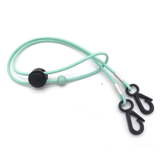 商品详情 - 【中国直邮】MERRYLIFE口罩挂绳防丢神器儿童成人可调节(绿色) - image  0
