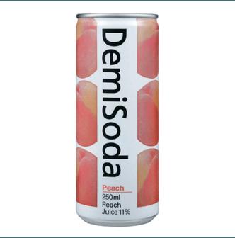 DONGA OTSUKA Demi Soda Peach Flavor 250ml