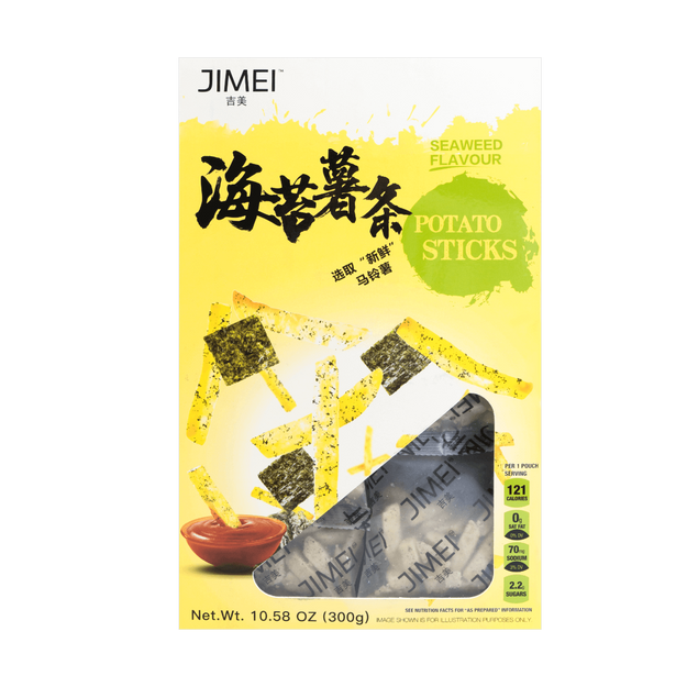Product Detail - JIMEI Seaweed Potato Sticks 300g - image 0