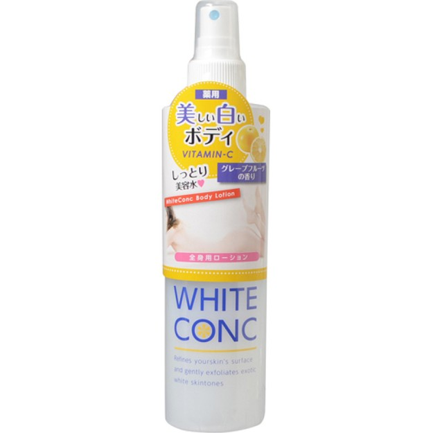 商品详情 - 【日本直邮】WHITE CONC全身VC美白喷雾 喷身体修复保湿补水香氛 245ml - image  0