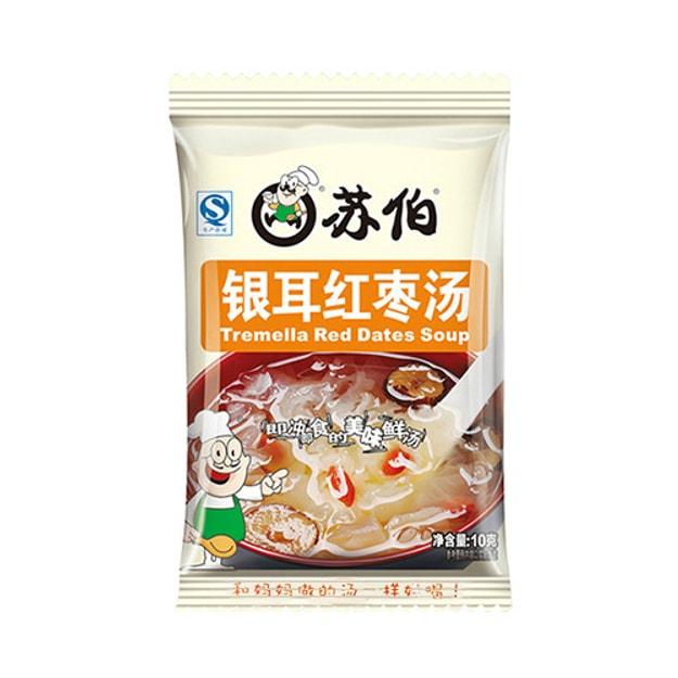 商品详情 - 苏伯 即冲即食银耳红枣汤 10g - image  0
