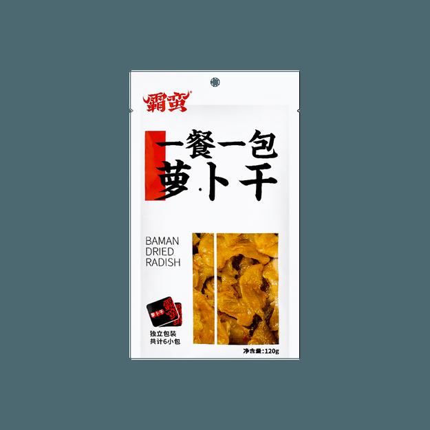 商品详情 - 霸蛮 萝卜干 120g - image  0