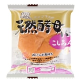 D-PLUS Natural Yeast Bread Red Bean Flavor 80g
