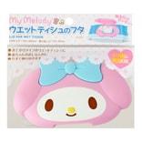 日本LEC MELODY美乐蒂 卡通超强粘贴力湿巾盖 防尘防燥反复使用 单件入