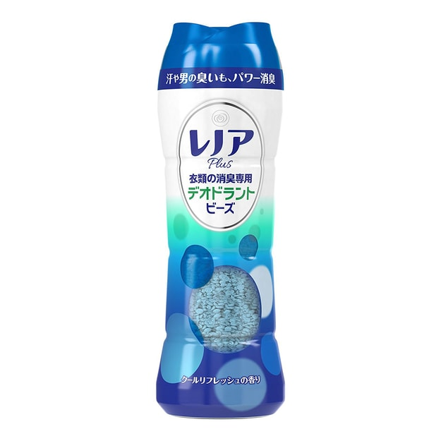 Product Detail - PG Deodorizer Whitening Fabric Softener Fragrance Aroma Beans #OceanBreeze 375g Japan Limited - image 0