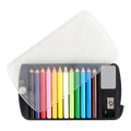 Mini Color Pencil Set with Sharpener & Eraser 12 Colors