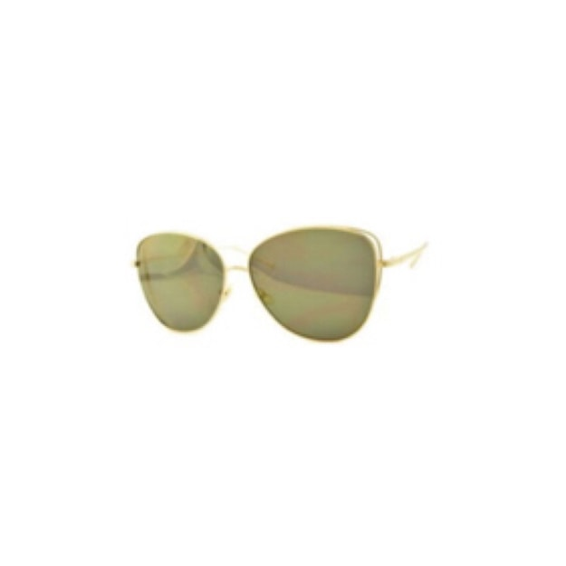 Product Detail - RETRO POP Fashion Sunglasses 7258 Gold Frame/Gold Mirror - image 0