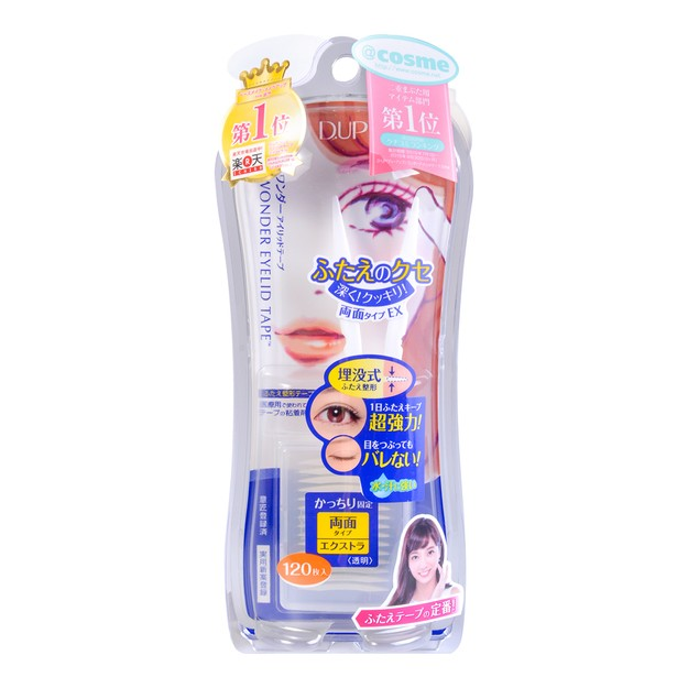 D-UP Wonder Eyelid Tape For Extra Double Eyelid 120 Pieces @Cosme Award No.1