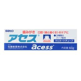 日本SATO佐藤 ACESS 牙周护理牙膏 60g