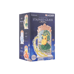"""Pokemon Blind Box Plastic Miniature """"P Stained Glass Collection, 1pc, Total 6 Patterns, Patterns Ship Randomly"""