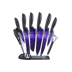 CONCORD 厨房星空系列刀剪刀磨刀器套组 10件入