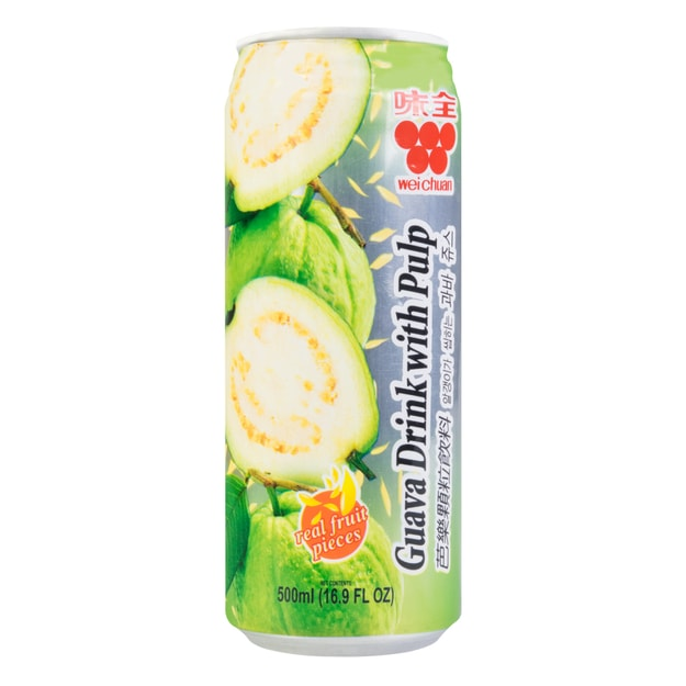 Product Detail - WEI CHUAN Guava Drink With Pulp 500ml - image 0