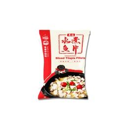 地道中国味⽔煮鱼⽚(免浆)   340g